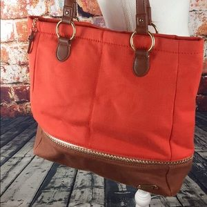 The Sac two-toned tote purse